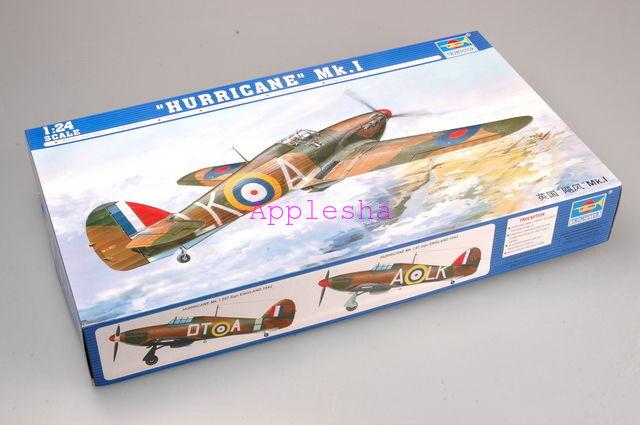 Trumpeter 02414 1 24   Hurricane  Mk.I