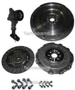 FORD-1-8-TDCi-S-Max-6-Vitesse-Double-Masse-pour-Single-Flywheel-clutch-Kit-CSC-Bolts
