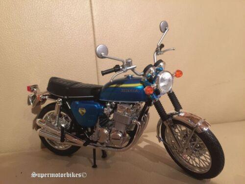 1:12 honda CB 750 cuatro k0 azul metalizado 1968//03086