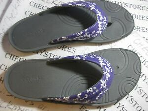9cab01cd7 NIB COLUMBIA YOUTH TECHSUN FLIP BIG KIDS GIRLS SLIP ON COMFY SANDAL ...