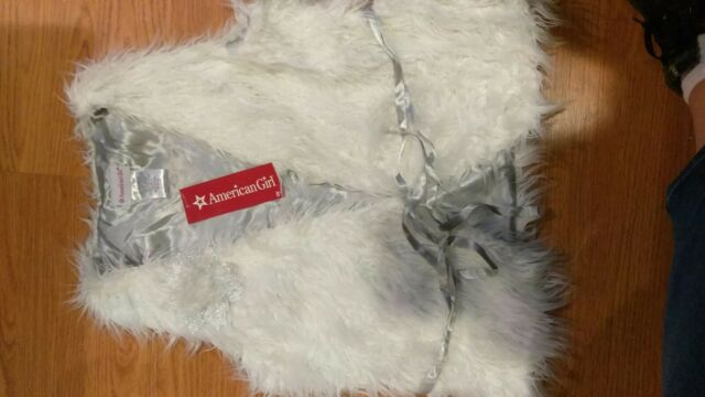 14-16 NWT American Girl Winter White Tee For Girls Size L