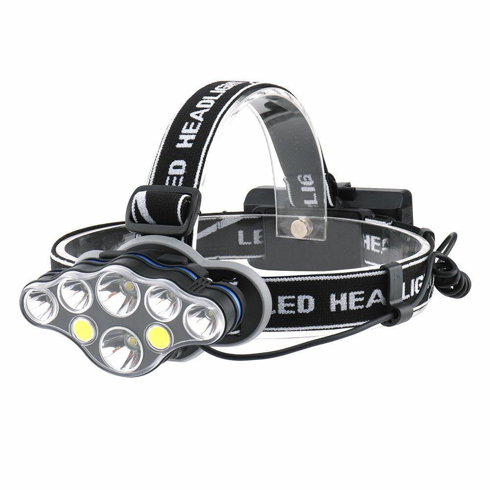 XPE LED Scheinwerfer USB wiederaufladbarer Wellensensor Taschenlampe mit Akku