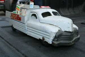 Buddy-L-No-325-Super-Market-Delivery-Truck-Pressed-Steel-USA