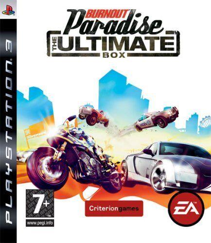 PS3 Jeu Burnout Paradise - The Ultimate Housse Neuf
