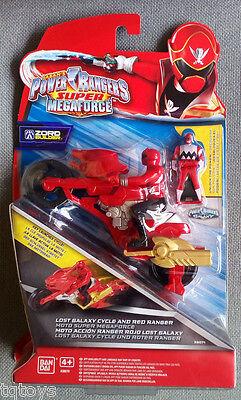 Power Rangers Super Megaforce 12.5cm Red Ranger Figure Damaged Packaging 38201
