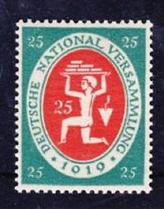 DR-Mi-Nr-109-I-geprueft-Bechtold-BPP-Sinnbilder-Deutsches-Reich-1919-1920