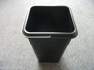 Mulleimer Schwarz 7 Liter Fur Blancoselect Abfalltrennsysteme