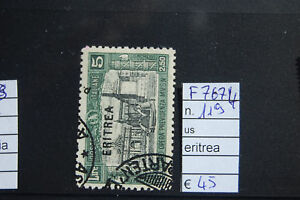 FRANCOBOLLI-ITALIA-COLONIE-ERITREA-USATI-N-119-F7674