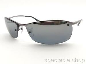 83332575cd Ray Ban RB 3183 004 82 63mm Gunmetal Polarized Mirror Sunglass New ...