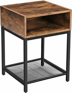 Beistelltisch-Couchtisch-Nachttisch-Industrial-Metall-Loft-Industrie-Design