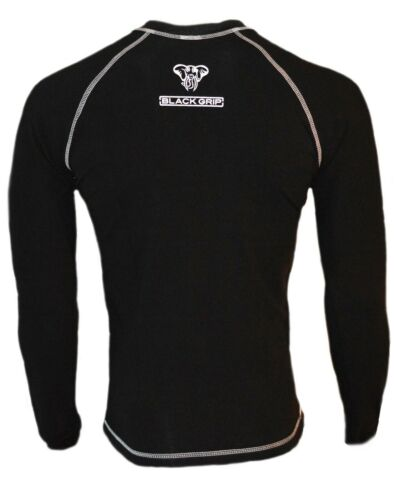 Eagle Tight Black Grip Long Sleeve Grappling and Jiu Jitsu Training