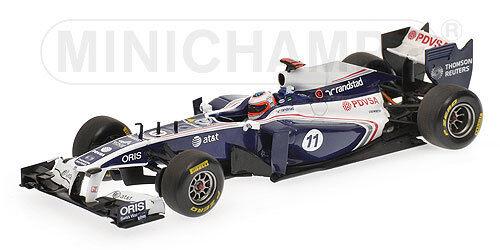 Williams Fw33 Rubens Barrichello Versione Gara 2011 Minichamps 1 43 410110011