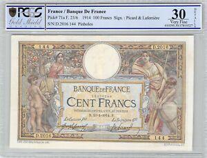 France-100-Francs-10-1-1914-D-2016-n-50378144-PCGS-VF-30