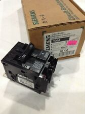 item 4 siemens ite b2100 new circuit breaker 2 pole 100 amp 240 vac box of 6 siemens ite b2100 new circuit breaker 2 pole 100 amp 240 vac box of 6