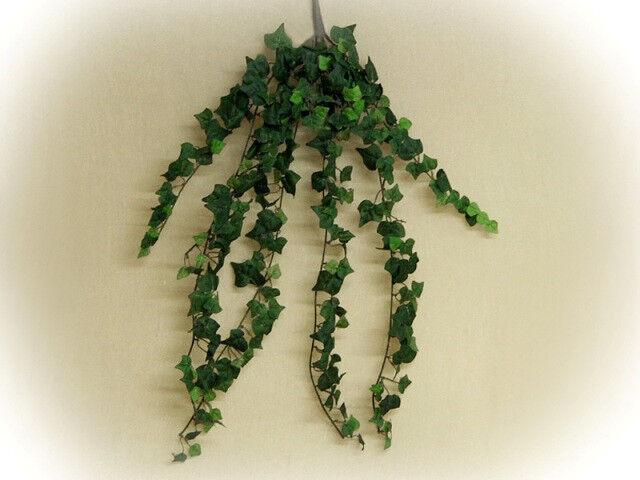 Efeu Ranke Efeubusch 100 cm künstliches Efeu grün  Kunstblumen Deko Kunstpflanze