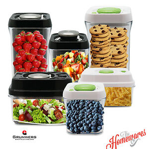 Pioneer Pump Fresh Vacuum Food Storage Container Canister Jar eBay