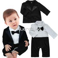 Strampler+ Jacke Baby-Set Schlafanzug Overall Smoking Taufe Anzug 62 68 74 86 92