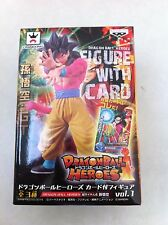 DRAGON BALL Z HEROES GOKU SS4 FIGURES FIGURAS NEW