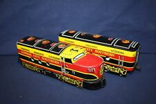 Marx 54/55 Kansas City Southern (KCS) Loco & Dummy-Large Motor-NICE