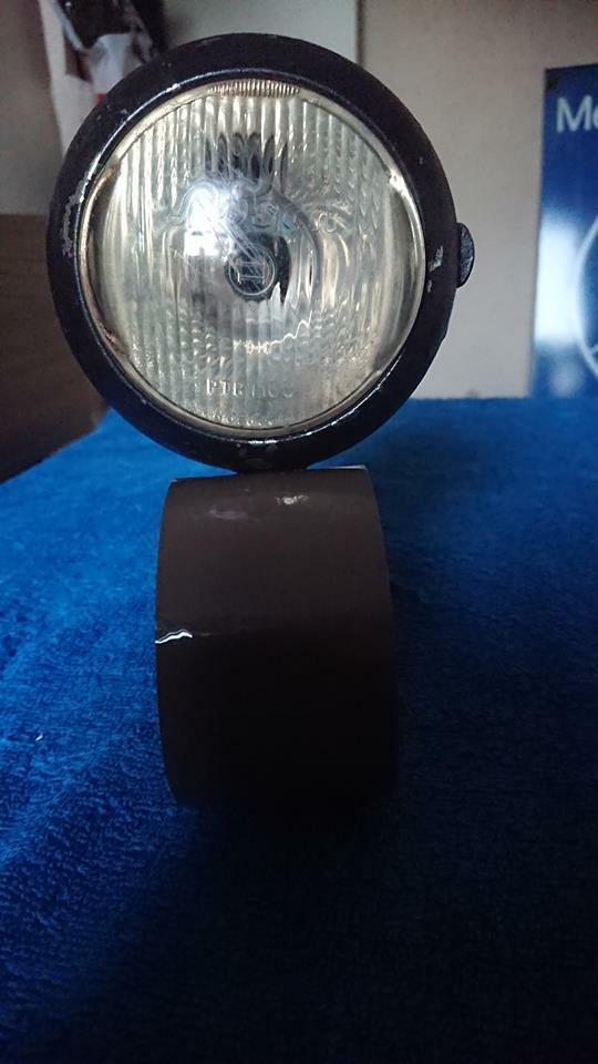 Vintage bosch cycle bike light lamp