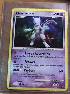 Pokemon dawn majesty holo mewtwo no 9//100
