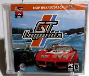 GT-Legends-PC-DVD-rom-2005-Retro-Racing-Game-COLLECTOR-039-S-SPECIAL-UP-TO-25