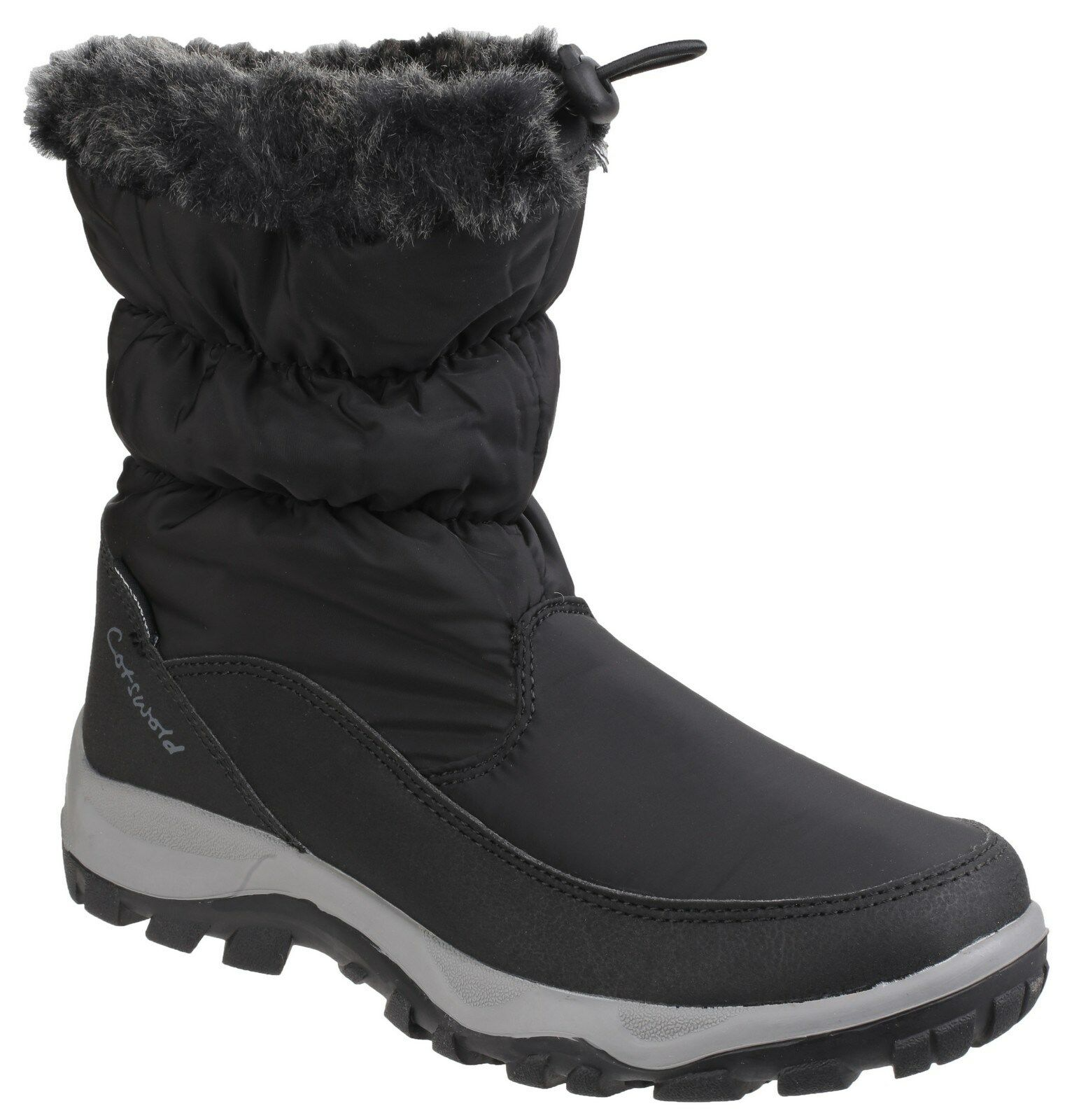Cotswold Frost Wellington Waterproof Pull On Wellington Frost Snow Boots UK3-8 db988c