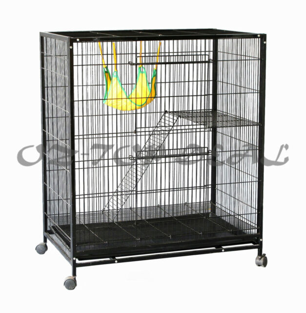 Brand New Bird Canary Parrot Cage Aviary Ferret Cat Budgie Hamster House Castor