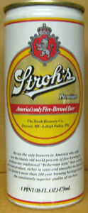 STROH-039-S-PREMIUM-Fire-Brewed-Beer-16oz-CAN-Detroit-MICHIGAN-PENNSYLVANIA-1982