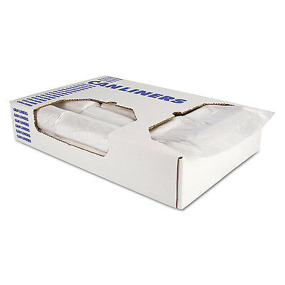 Accufit Low-density Can Liners 23 Gal 0.9 Mil 28 X 45 Clear 200/carton Verlichten Van Warmte En Zonnesteek