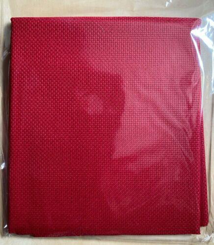 18 cuenta Aida 75cm X 30cm Rojo