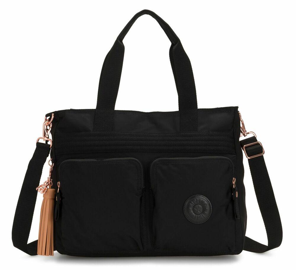 AgréAble Kipling Esiana Medium Shoulderbag Rose Black Mode Attrayante