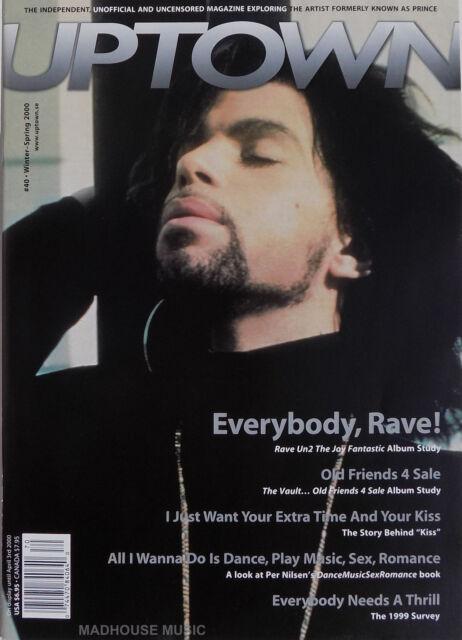 PRINCE Magazine - UPTOWN # 40 Rave Album / Vaults / Kiss Story / DMSR Book NEW