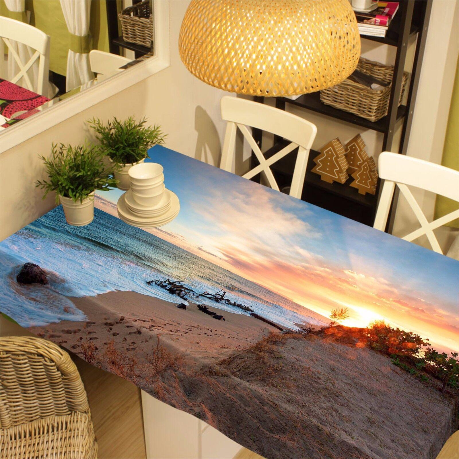 3D soleil Nappe Table Cover Cloth fête d'anniversaire AJ papier peint Royaume-Uni Citron