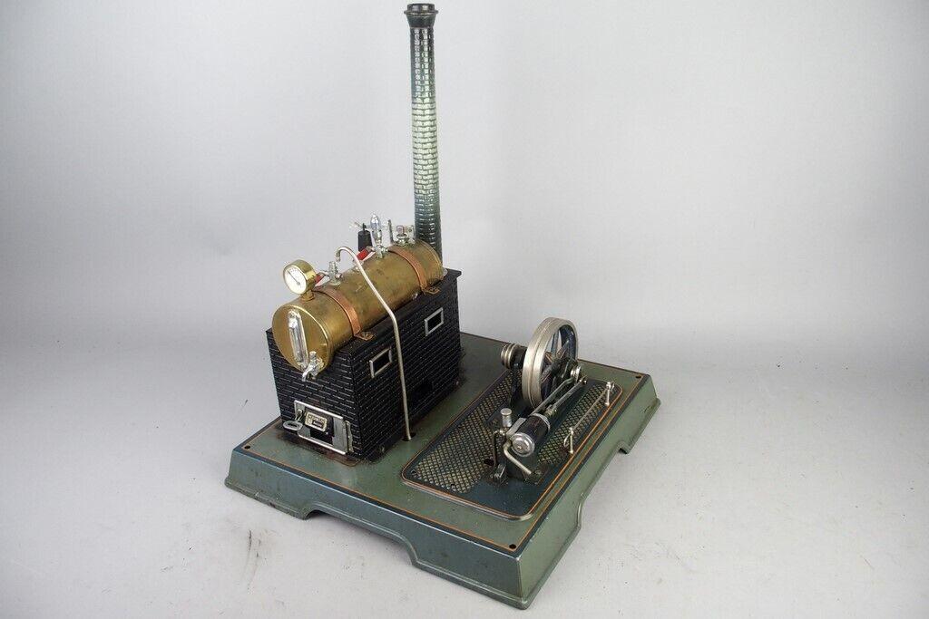 Motor de vapor Marklin En Vivo Vintage, preguerra juguete de estaño  1
