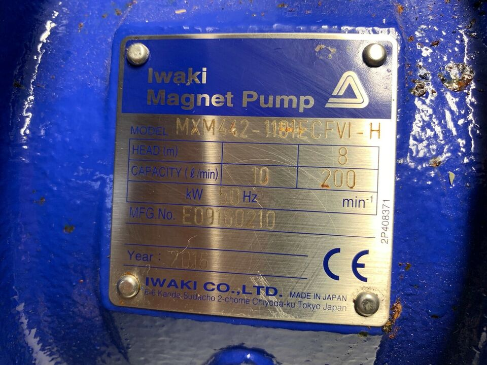 Pumpe, Iwaki