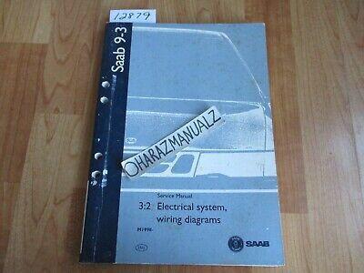 1998 SAAB 9-3 Electrical System Wiring Diagrams Manual   eBay