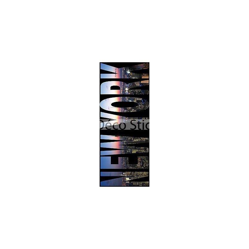 Aufkleber Schein Auge New York 100x200cm Ref 423 423