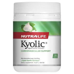 NEW NUTRALIFE KYOLIC AGED GARLIC EXTRACT 120 CAPS Nutra Life Immune Boost