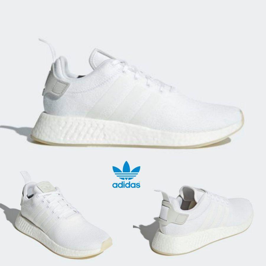 Adidas Original NMD R2 Runner cq2401 Boost Zapatos Blanco Blanco cq2401 Runner reducción de precio e782bb