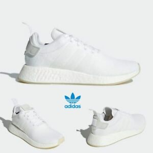 4c8883b5ddd0c ... best price image is loading adidas original nmd r2 runner boost shoes  white dcf99 08759