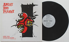 Angry Red Planet - Give 'Em Enough Dope LP GERMANY PRESS Detroit Midwest Punk HC