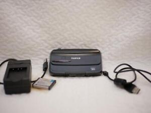 FUJIFILM-FinePix-REAL-3D-W3-F-FX-3D-W3-digital-camera-JAPAN-Used-Rare-Black