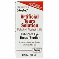 Artificial Tears By Rugby Lubricant Eye Drops 15 Ml Humans Dogs Cats Horses on sale