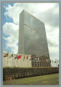 Set-of-5-Cards-Postal-United-Nations-Whole-Postal