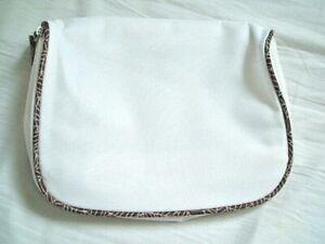 Ca Kosmetiktasche Weiß Handtasche 22 X 17 X 5 Cm Von Der Konsumierenden öFfentlichkeit Hoch Gelobt Und GeschäTzt Zu Werden
