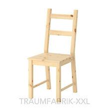Ikea legno massello Sedia da cucina Pino Ivar in & Natura   eBay
