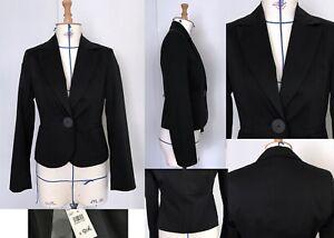 3Taille 36 FrEbay Noir marque Femme 1 2 Coton Spencer Veste TXPZuOki