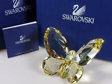 SWAROVSKI CRYSTAL BUTTERFLY, JONQUIL RETIRED 2008 MIB #855690