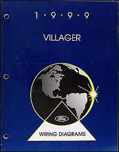 1999 mercury villager original wiring diagram manual electrical rh ebay com 1999 mercury outboard wiring diagram 1999 mercury outboard wiring diagram